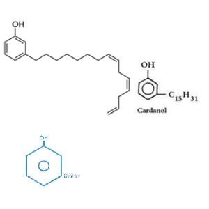 腰果酚分子式